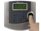 Fingerprint timeclock