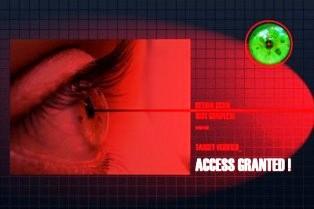 retinal scanning of an eye