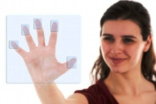 biometric fingerprint scanner 5 fingerprint scan