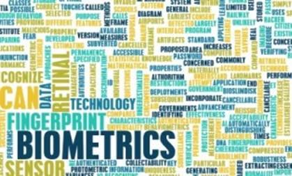 biometric software types data fingerprint retinal list