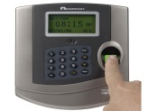Fingerprint timeclock