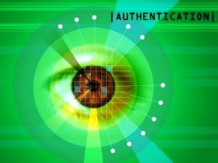 retina scanner taking picture of iris